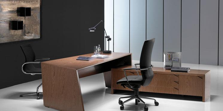 bureau haut de gamme au design moderne origami. Black Bedroom Furniture Sets. Home Design Ideas
