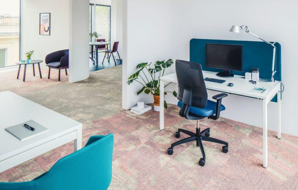 Bureau espace de coworking