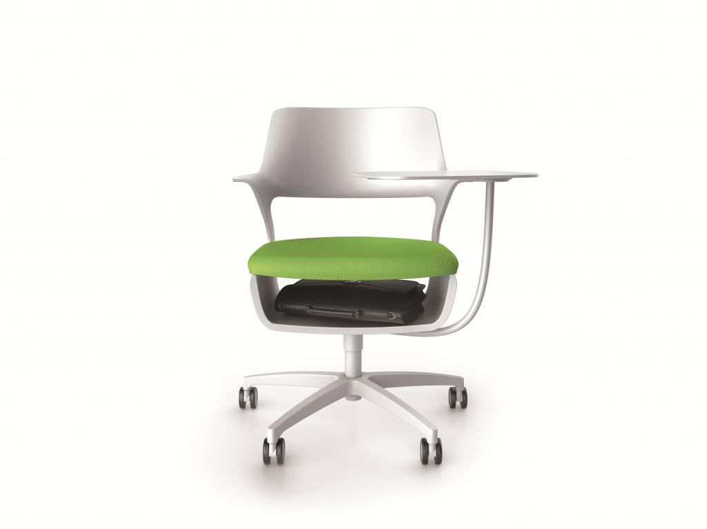 SHAR_K vu de face avec assise verte