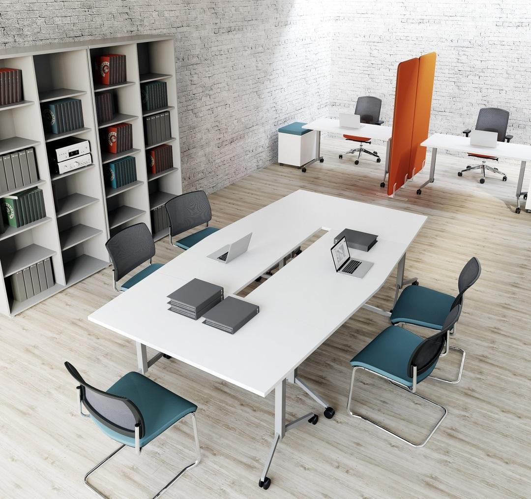 table salle de réunion modulaire