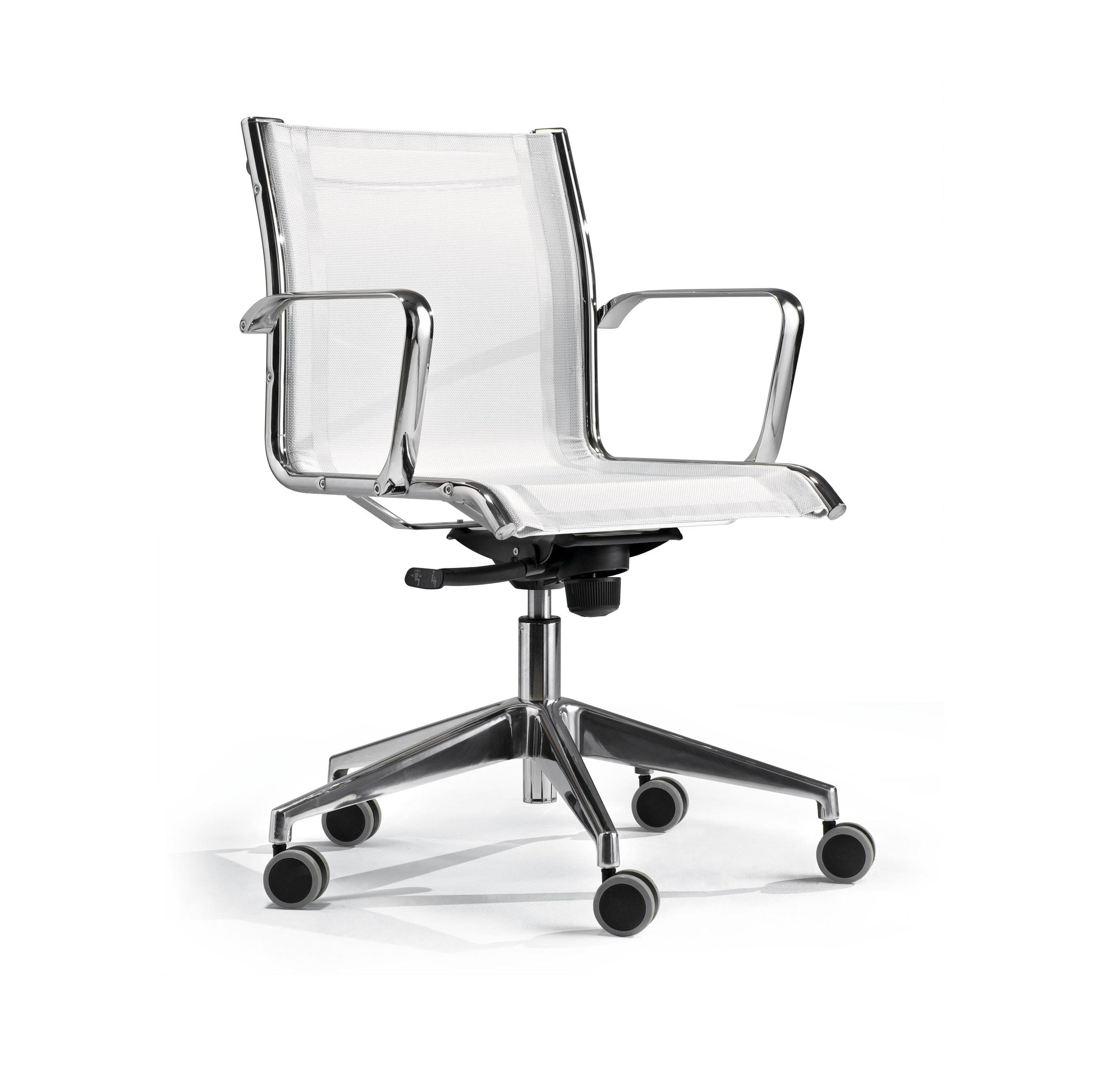 chaise de réunion design à roulettes