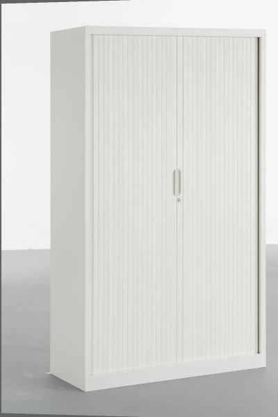 armoire acier monobloc avec portes rideaux. Black Bedroom Furniture Sets. Home Design Ideas