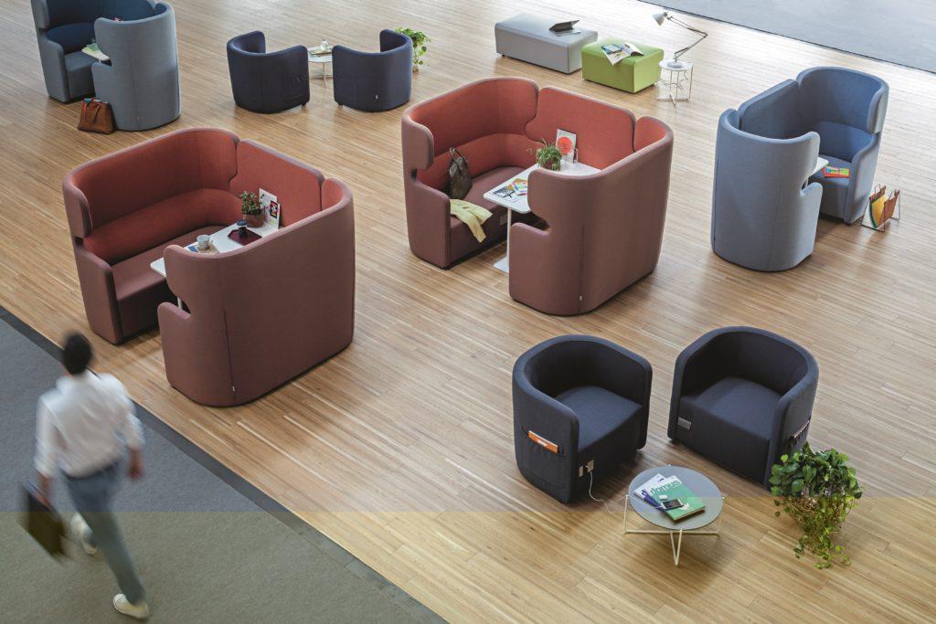 Box de coworking PEOPLE design et compétitif