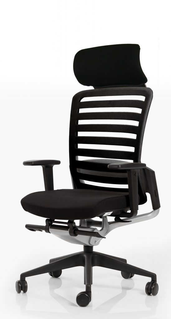 fauteuil de travail avec r glages ergonomiques. Black Bedroom Furniture Sets. Home Design Ideas