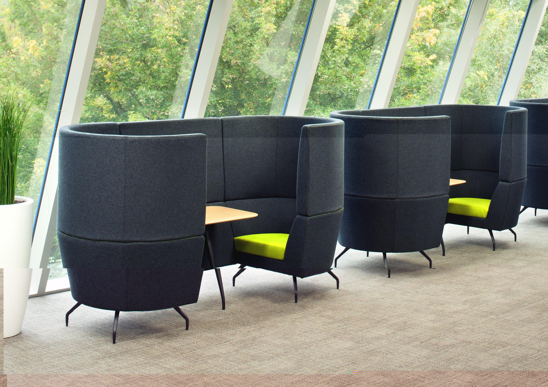 Banquette coworking design pour les espaces professionels - Mobilier pour mobil home ...