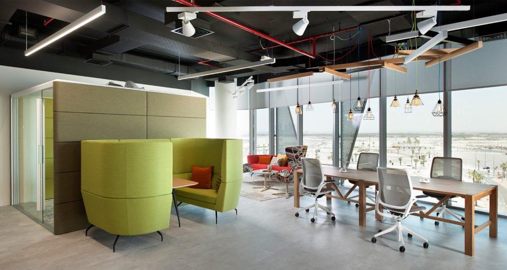 Mobilier de coworking design