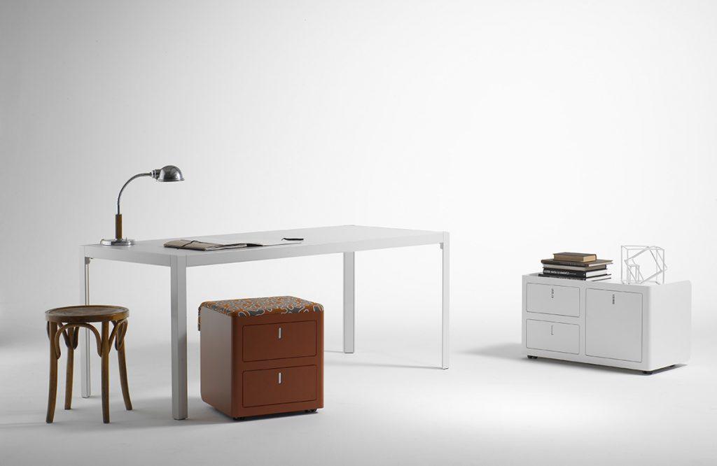 Caisson mobile et bureau