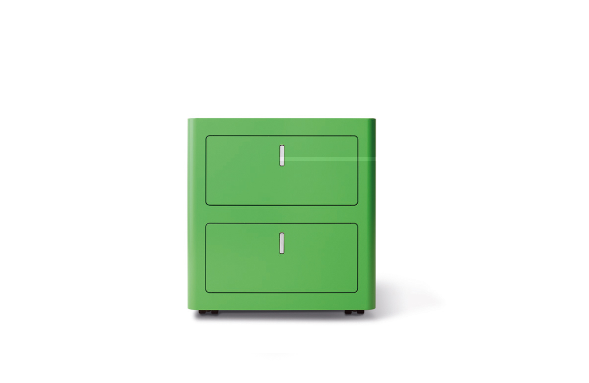 Caisson de bureau color design vintage - Caisson bureau design ...