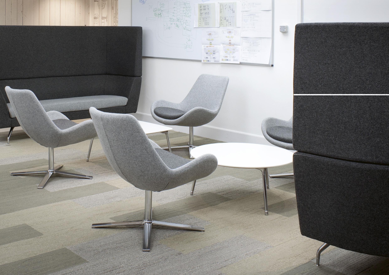 fauteuil pivotant haut de gamme avec dossier haut. Black Bedroom Furniture Sets. Home Design Ideas