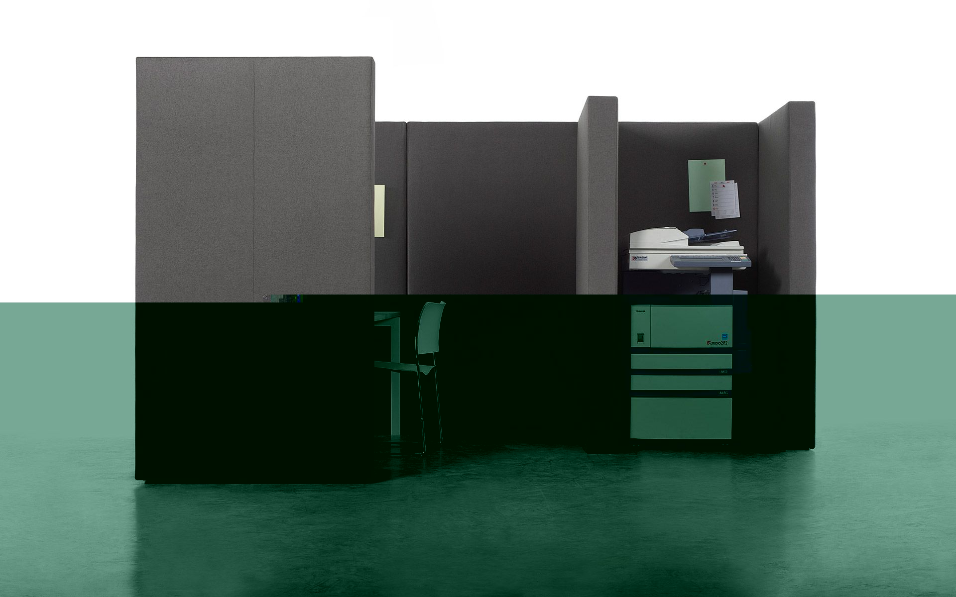 panneau de s paration acoustique modulable pour espace de. Black Bedroom Furniture Sets. Home Design Ideas