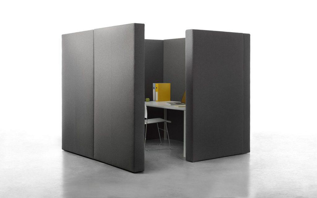Cloisons modulables et acoustiques pour open space