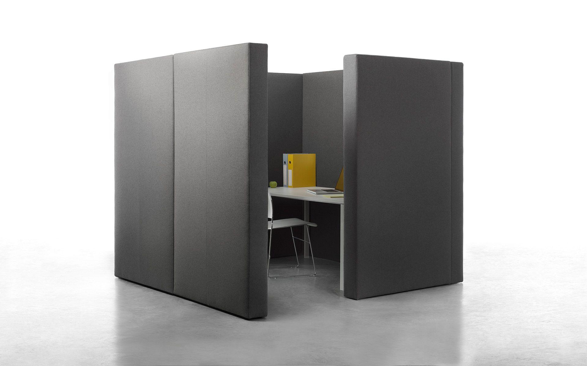 panneau de s paration acoustique modulable pour espace de. Black Bedroom Furniture Sets. Home Design Ideas