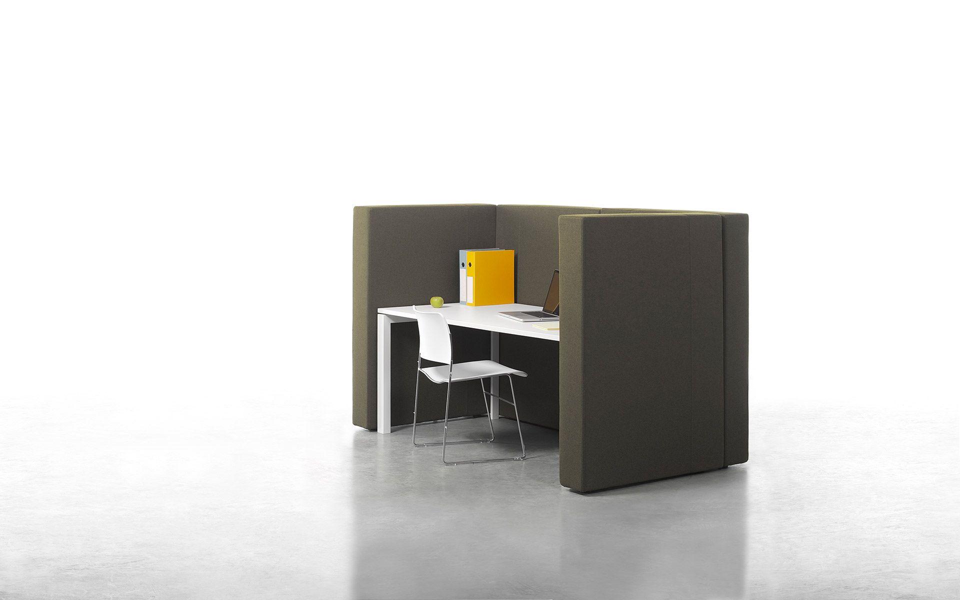 panneau de s paration acoustique modulable pour espace de travail. Black Bedroom Furniture Sets. Home Design Ideas