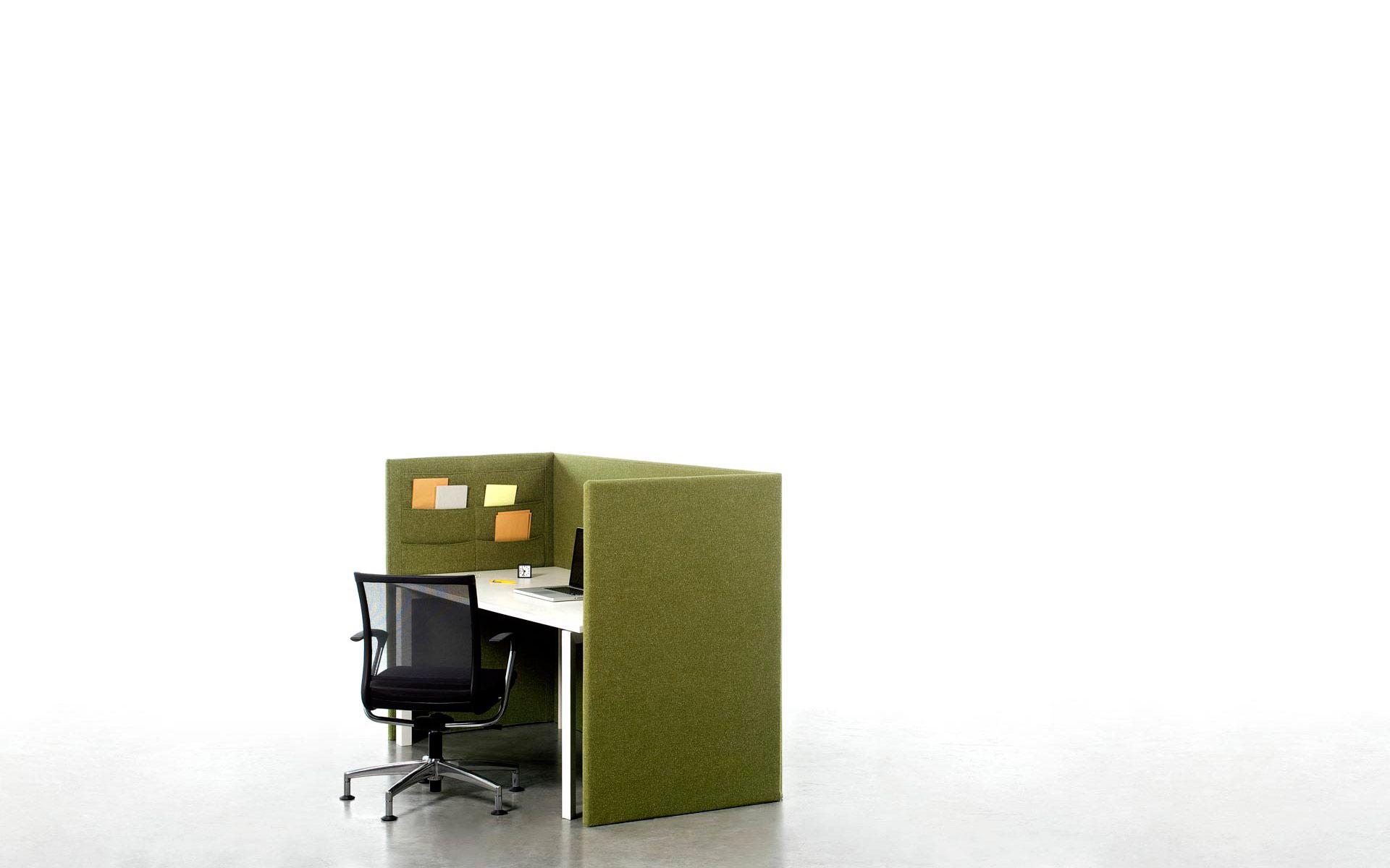 Cloison de s paration acoustique design modulable pour - Cloison de separation bureau ...