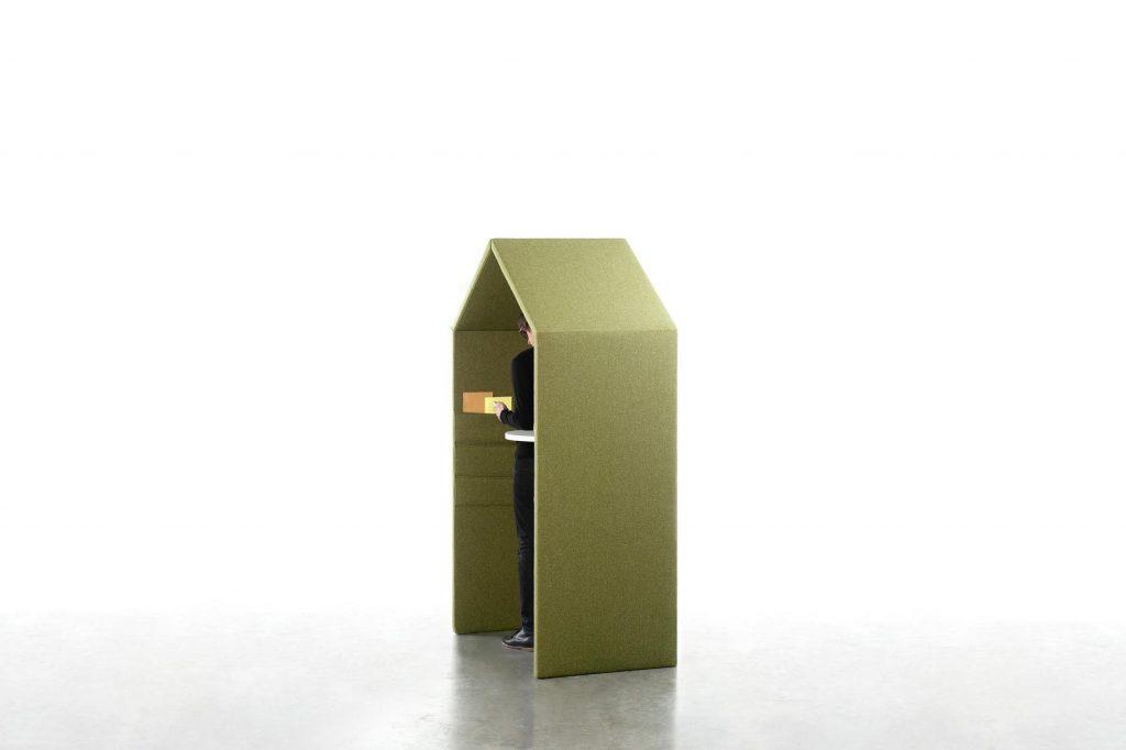 Cabine téléphonique acoustique design