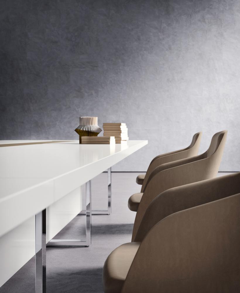 Table pour salle de réunion haut de gamme