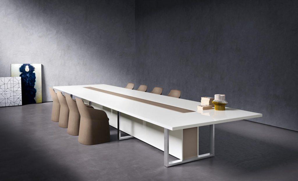 Table De R Union Tr S Haut De Gamme Pour Espaces De Travail De Luxe