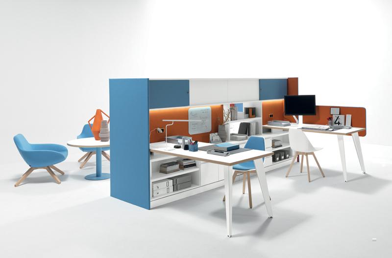 Meuble structurel pour bureau bench VENICE