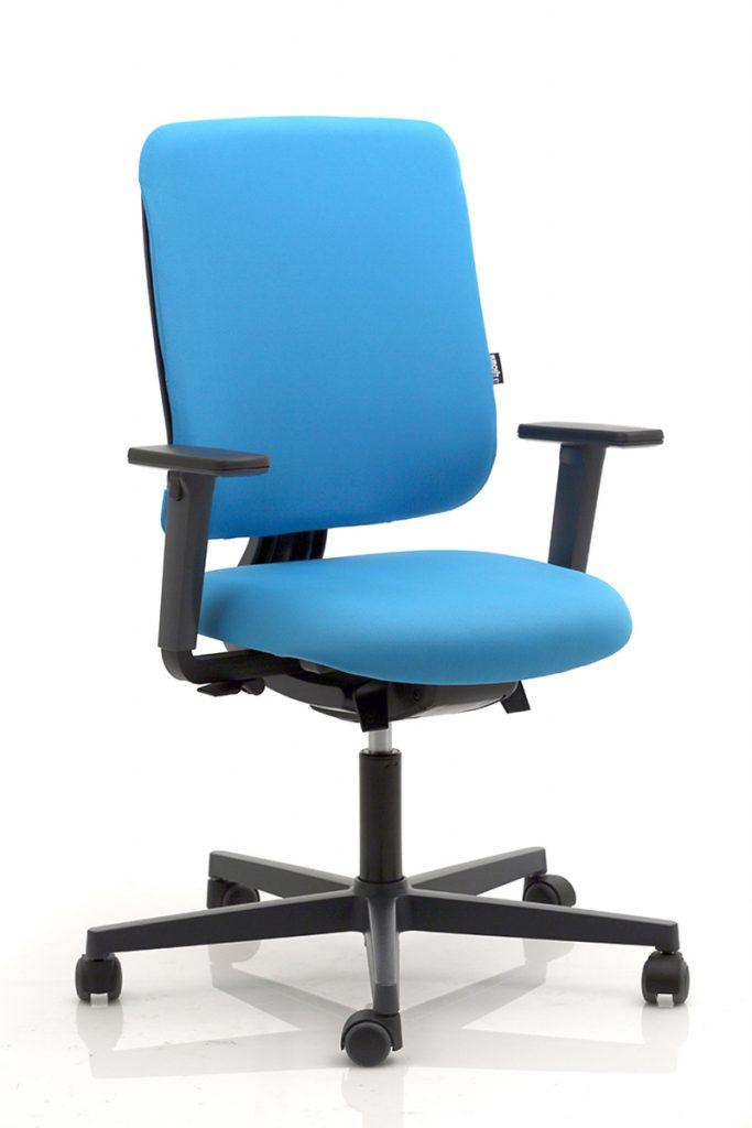 Siège de bureau avec assise declipsable