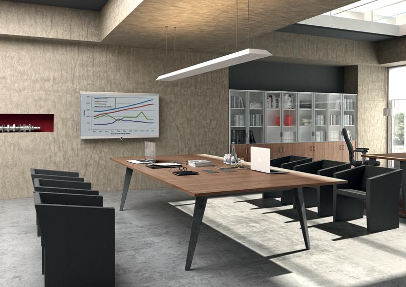 Grande table de travail gamme de bureau VENICE