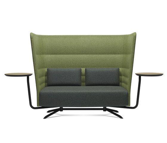 Sofa acoustique avec tablete