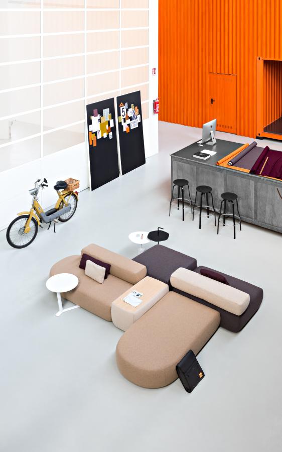 Mobilier design coworking KIP