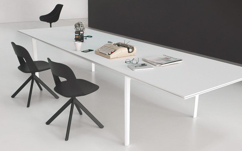 bureau bench add avec structure design et plateau haute qualit. Black Bedroom Furniture Sets. Home Design Ideas