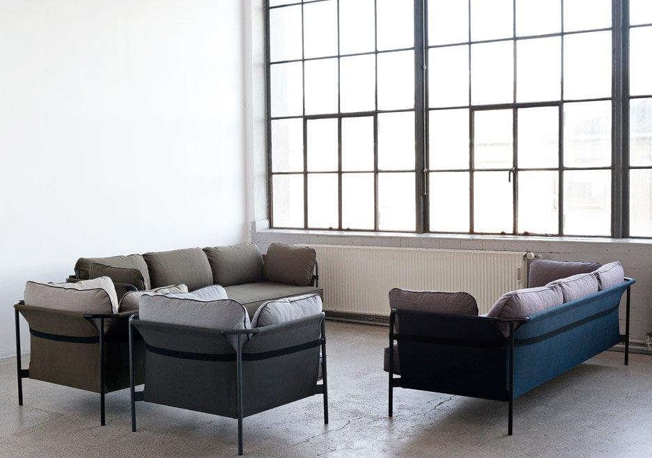 Espace d'attente avec canapé CAN
