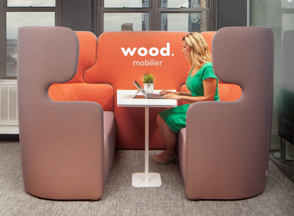 Box de coworking PEOPLE de Wood Mobilier