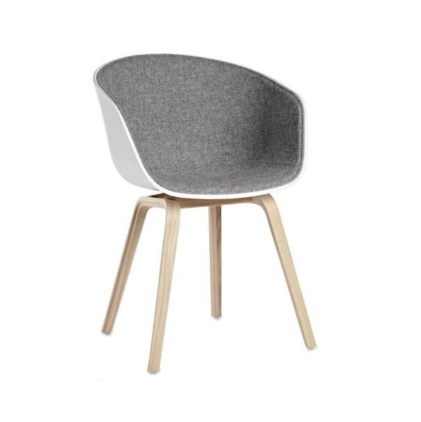 Chaise de réunion ACE finition pieds bois
