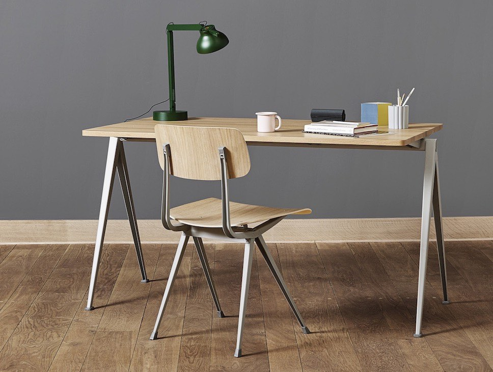 Bureau bench en home office