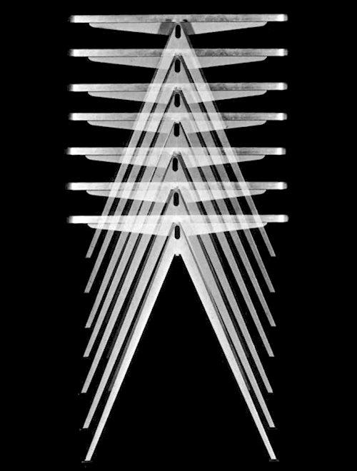 Bureau design scandinave PYRAMID