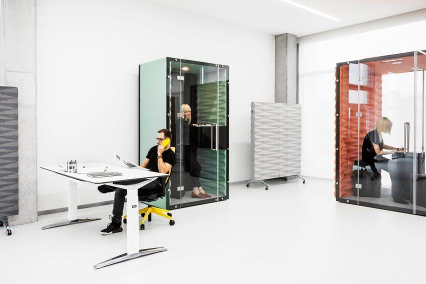 Box de réunion et cabine phone zone