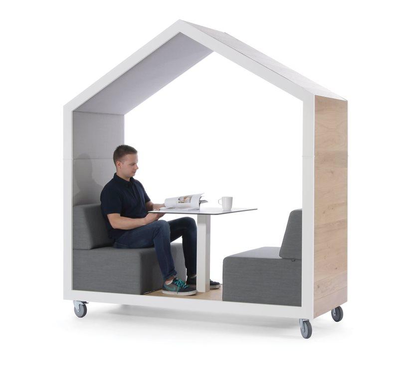 Box de réunion informel mobile