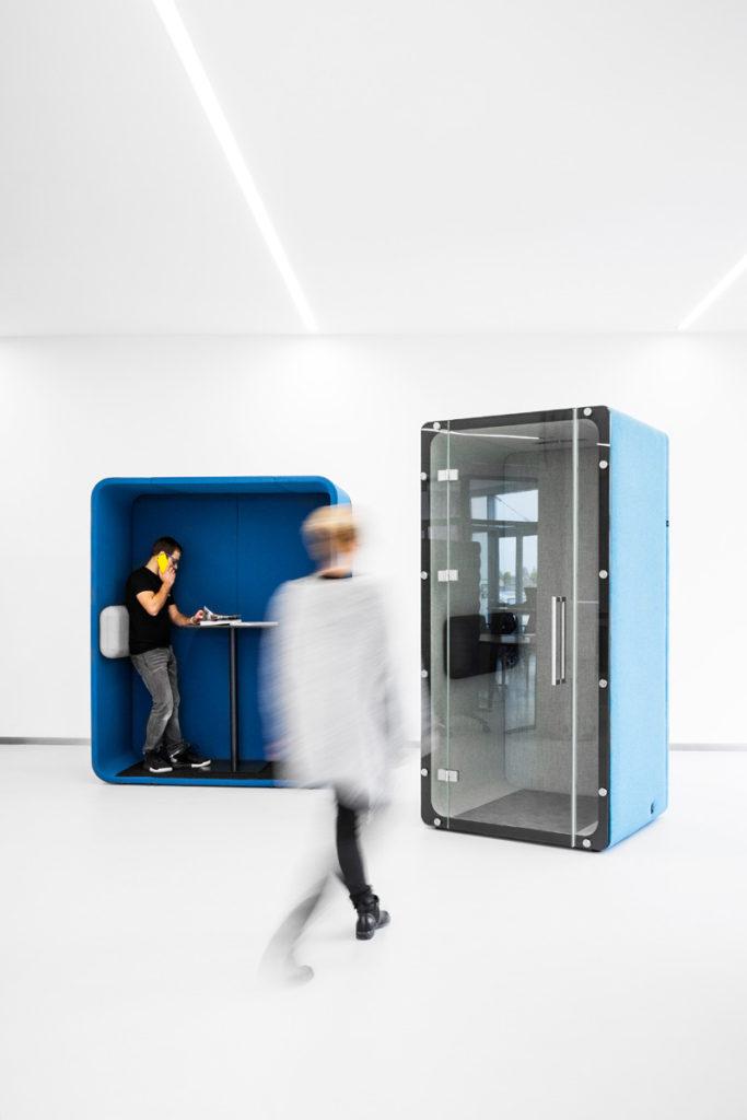 Cabine téléphonique acoustique pour le bureau