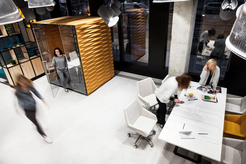 Alcôve de silence pour le coworking