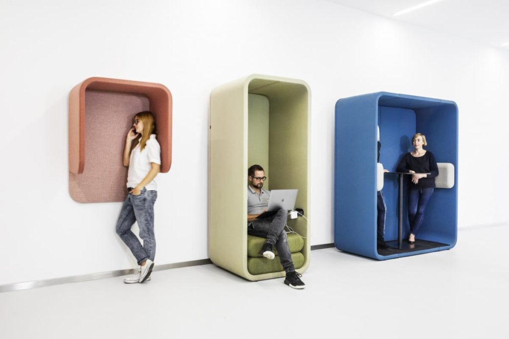 Mobilier silence pour open space