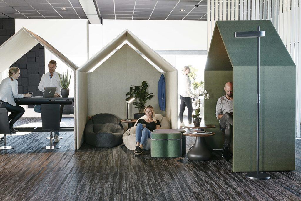 Alcôve de travail design cabane