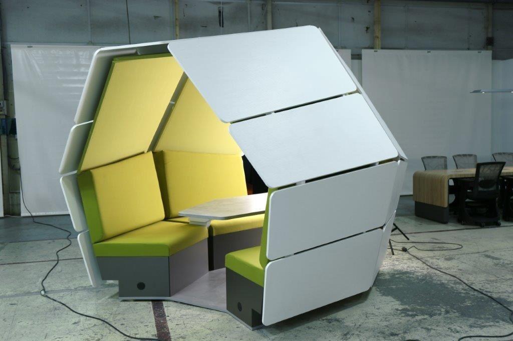 Box de coworking français S-POD