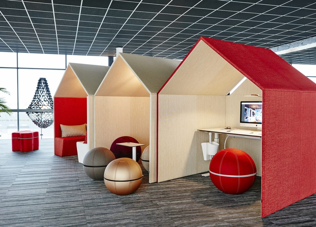Box acoustique VILLAGE pour open space