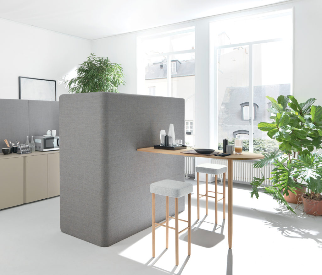 Corner café pour espace de coworking
