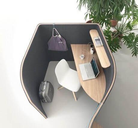 Alcôve acoustique bureau BULLE