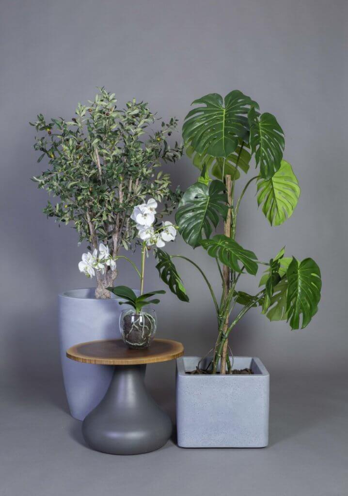 Plantes artificielles pour le bureau
