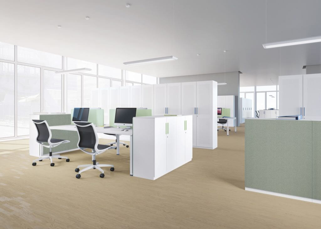 Armoire de bureau pour open space