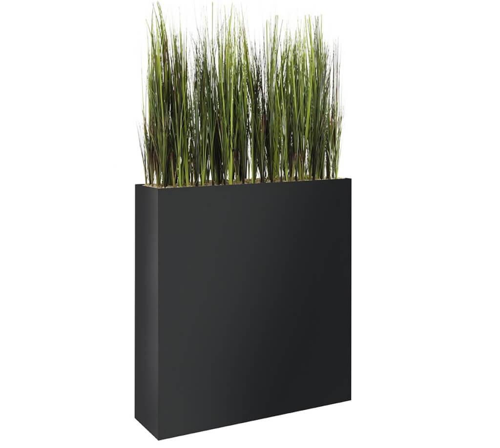 Bac de plantes artificielles mobile