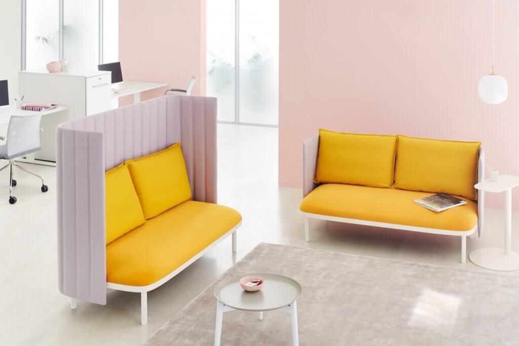 Canapé de coworking de luxe SUMMER
