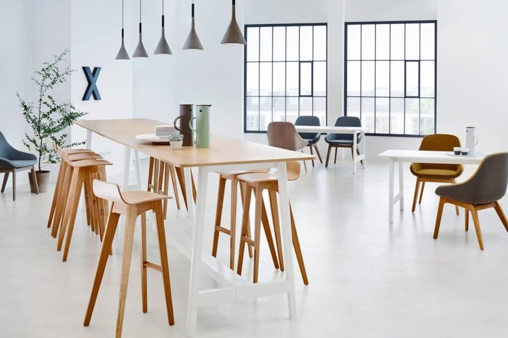 Bureau en bench design et haut de gamme