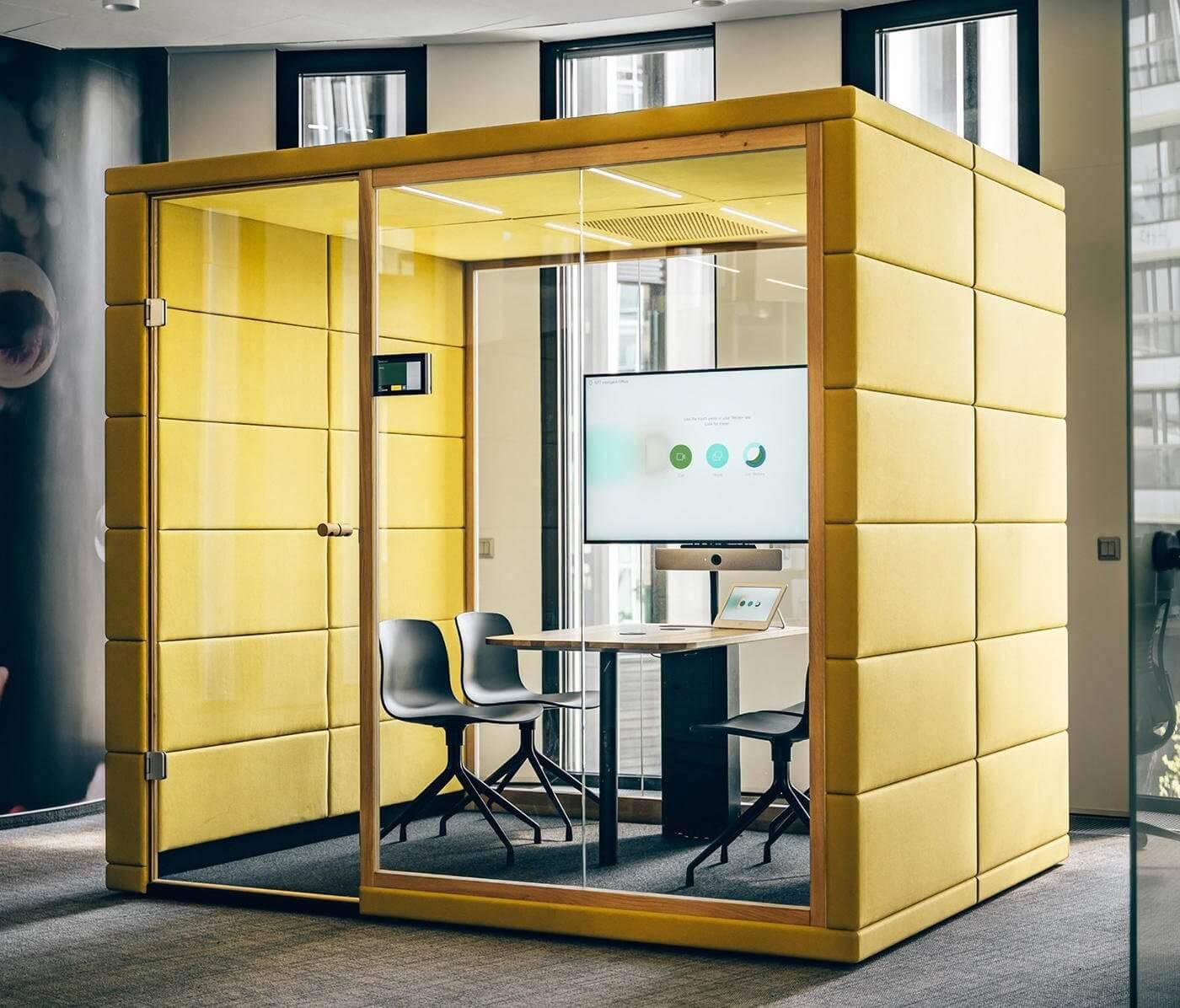 Box de réunion insonorisé et design QUAD