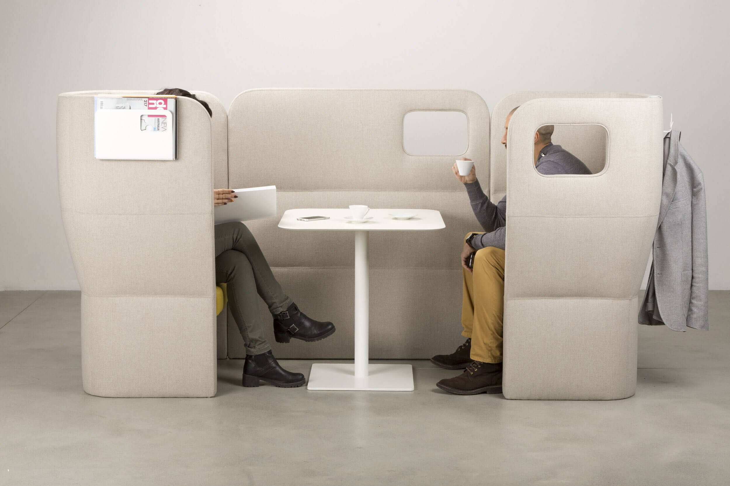 Box coworking duo face à face ORACLE
