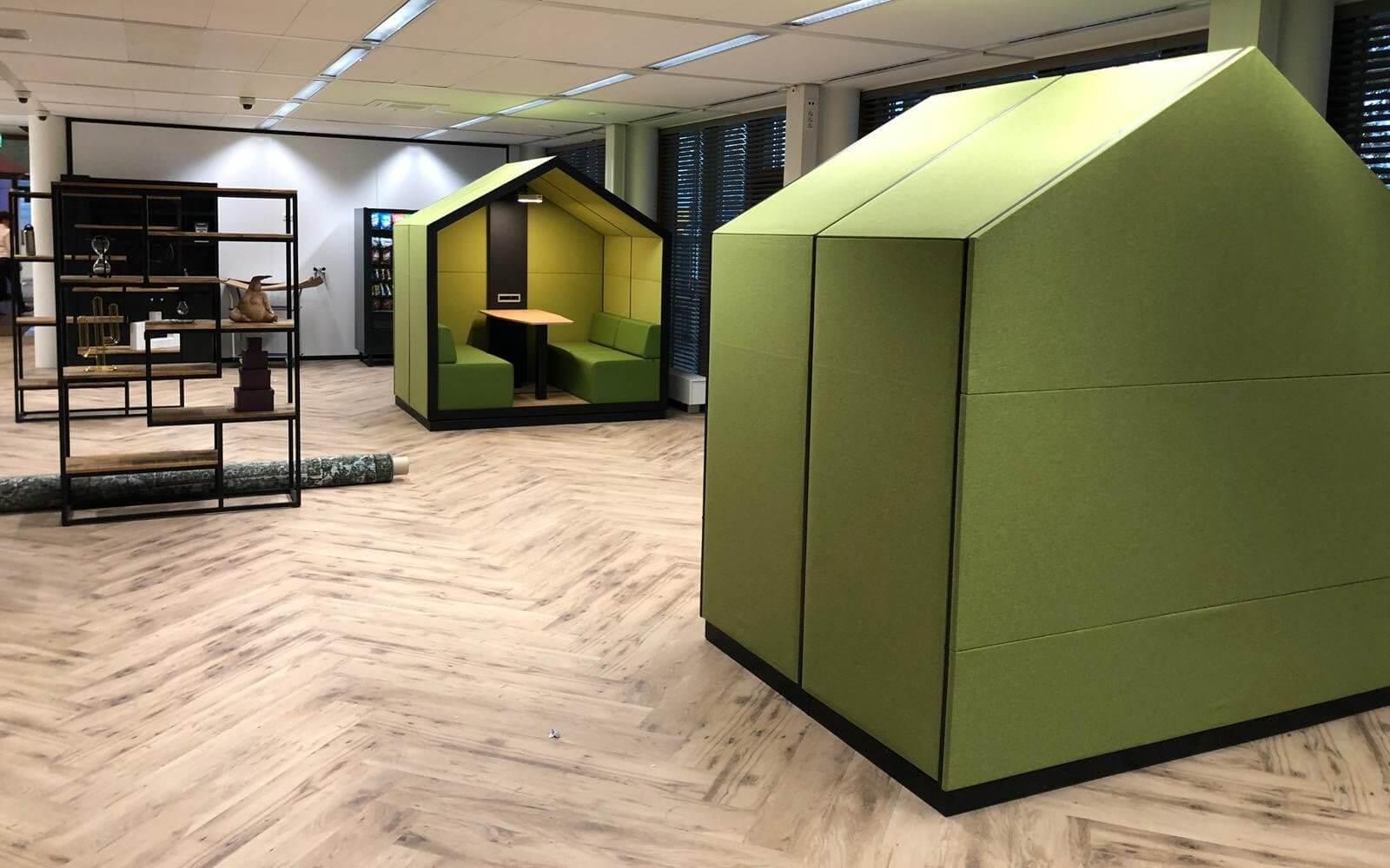 Cabine acoustique design pour open space HOME.